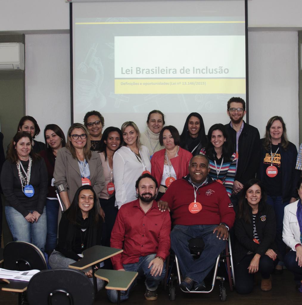 Quinta edição do curso sobre a Lei Brasileira de Inclusão acontecerá em janeiro
